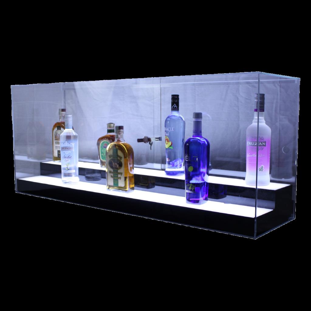 Large Liquor Case