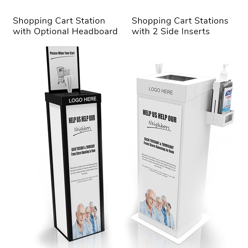 Shopping Cart Stations