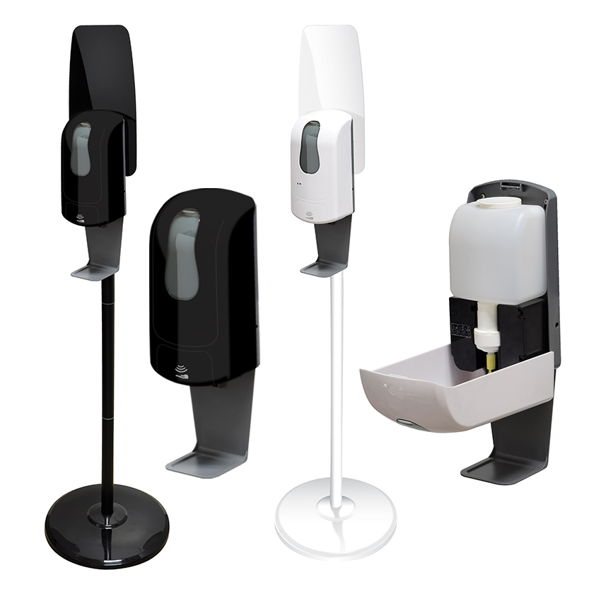 Hand Sanitizer Dispenser with Floor Stand